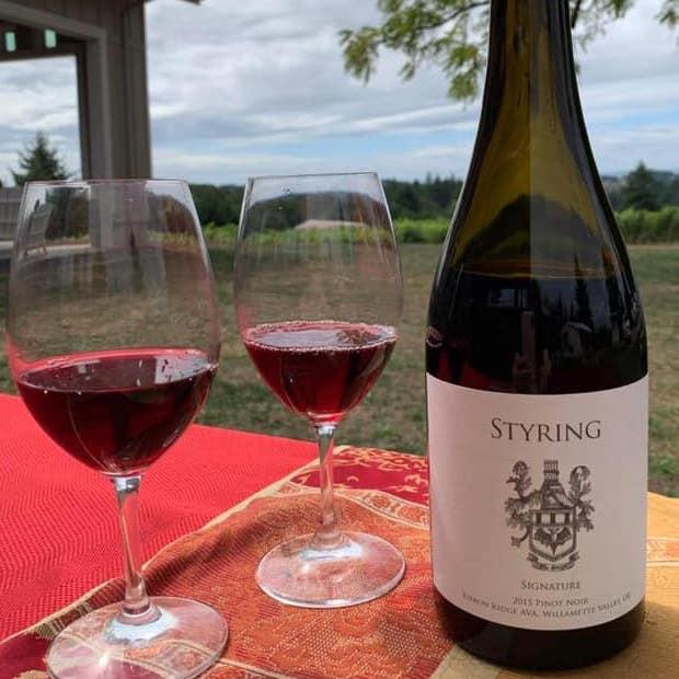 Styring 2015 Signature Pinot Noir SQ - Styring Saturdays: Fall 2019