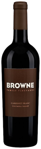 browne family vineyards cabernet franc nv bottle - Browne Family Vineyards 2016 Cabernet Franc, Columbia Valley, $40