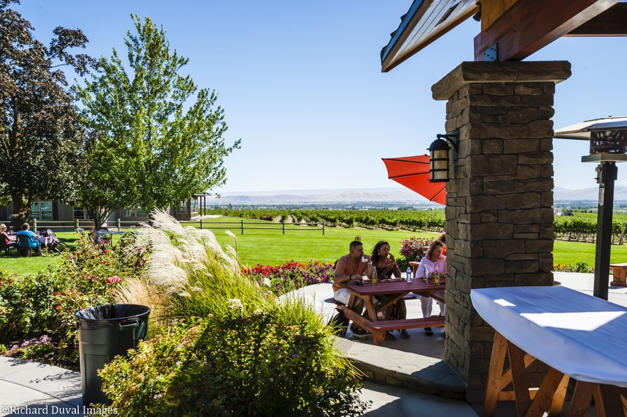 dineen vineyard sheridan vineyards richard duval images - VineLines Dispatch: Northwest wineries fill lists of USA Today readers