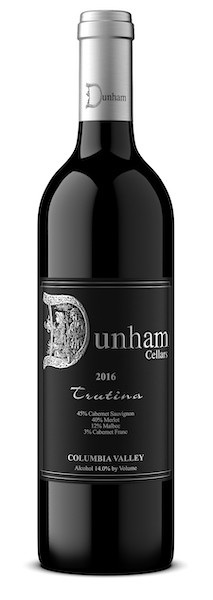 dunham cellars trutina 2016 bottle - Dunham Cellars 2016 Trutina Red Wine, Columbia Valley, $29