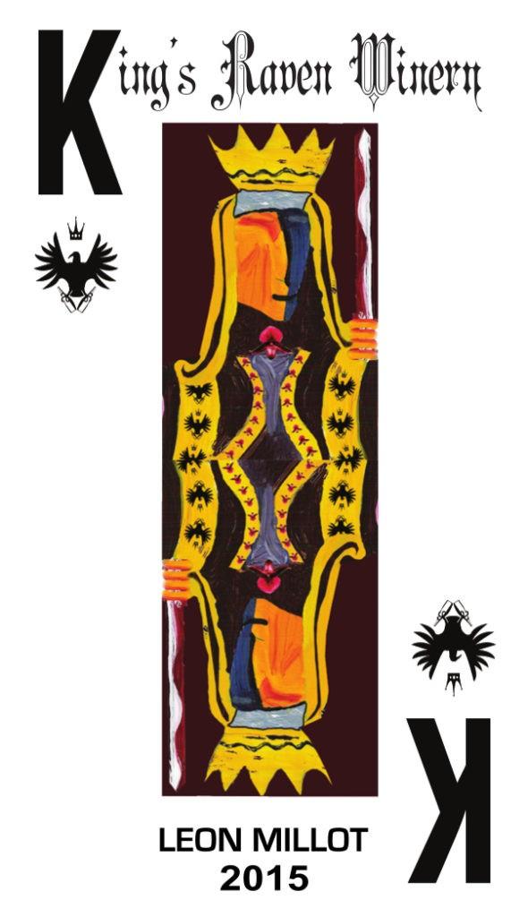 kings raven winery leon millot 2015 label 590x1024 - King's Raven Winery 2015 Estate Léon Millot, Willamette Valley, $40