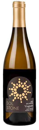sol stone wines sol sister viognier nv bottle - Sol Stone Wine 2017 Sol Sister Viognier, Columbia Valley, $24