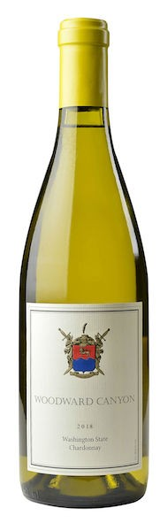 woodward canyon winery chardonnay 2018 bottle - Woodward Canyon Winery 2018 Chardonnay, Washington State $44