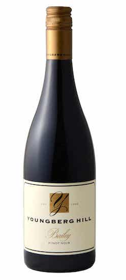 youngberg hill wine bailey pinot noir nv bottle - Youngberg Hill Vineyards 2016 Bailey Pinot Noir, Willamette Valley, $75