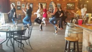 3536 photo 237547 300x169 - Country line dancing with Debbie Rich at Oran Mor Meadery
