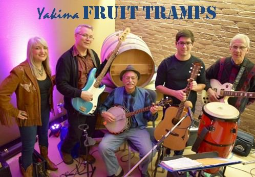 ALC CC Photo Fruit Tramps 2 - First Friday at AntoLin Cellars with the Fruit Tramps