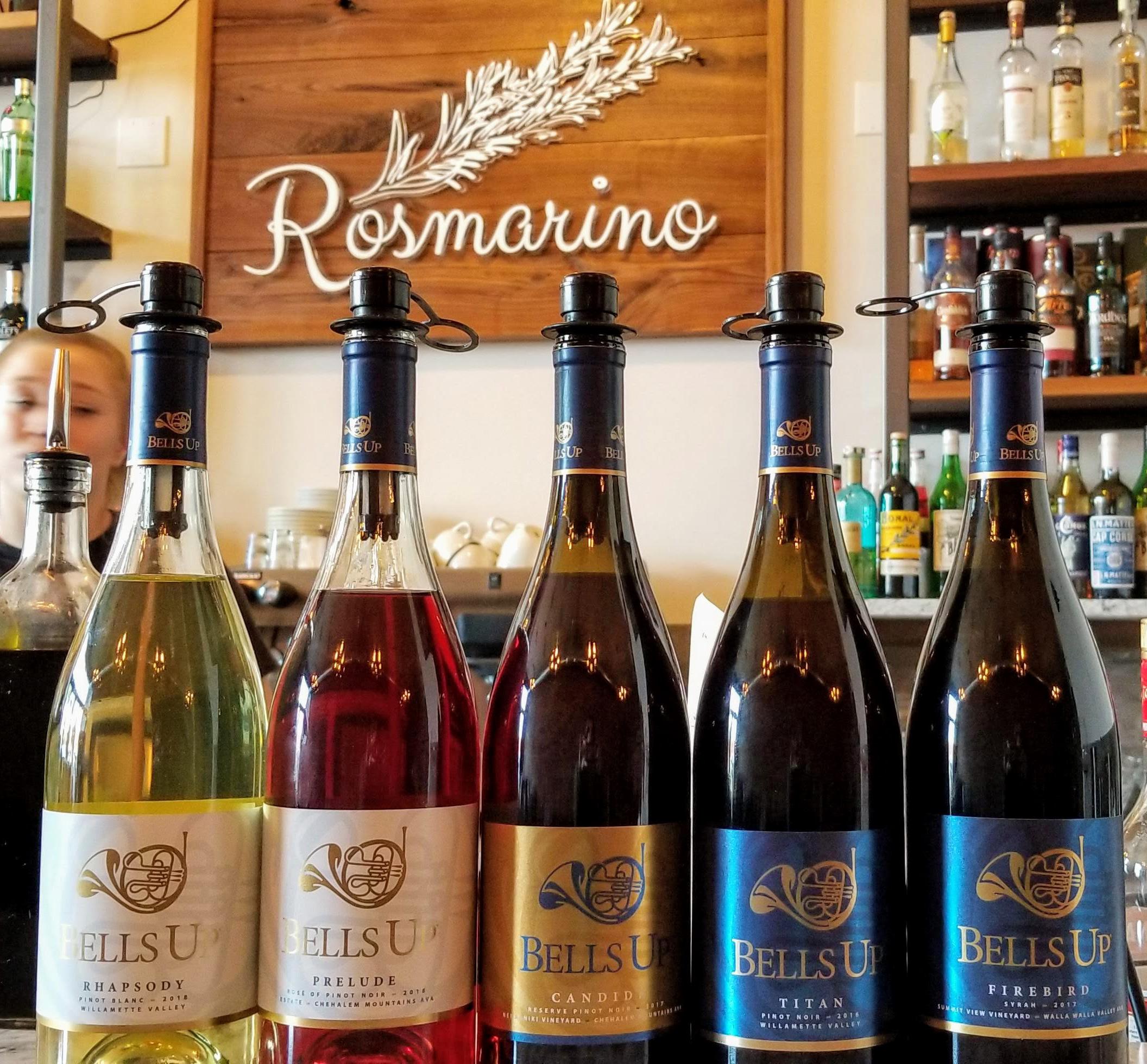 Rosmarino BellsUp Oct252019 Crop - Bells Up winemaker dinner at Rosmarino