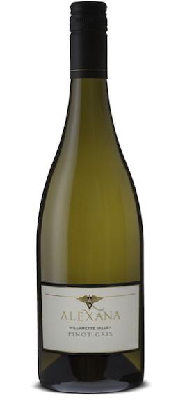 alexana winery pinot gris nv bottle - Alexana Winery 2019 Terroir Series Pinot Gris, Willamette Valley, $32