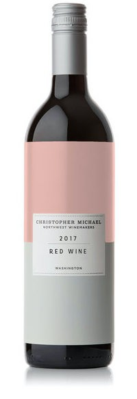 christopher michael wines red wine 2017 bottle - Christopher Michael Wines 2017 Red Wine, Washington, $15