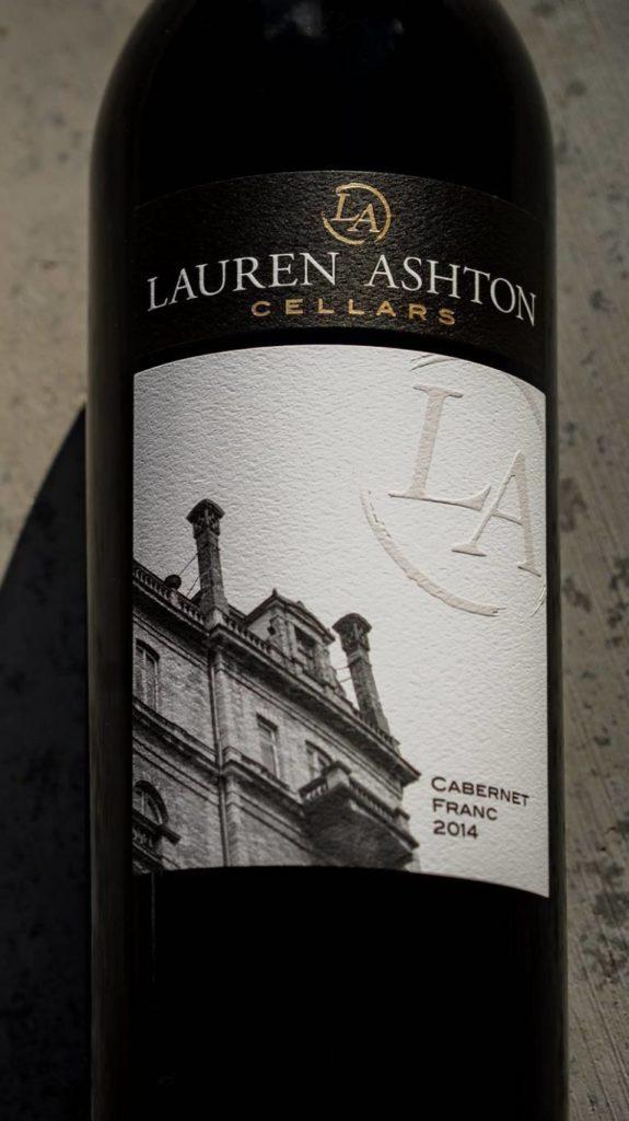 lauren ashton cellars cabernet franc 2014 bottle 575x1024 - Lauren Ashton Cellars 2014 Cabernet Franc, Columbia Valley, $45
