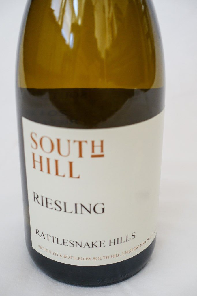 south hill vineyards riesling nv bottle 683x1024 - South Hill Vineyards 2018 Riesling, Rattlesnake Hills, $25