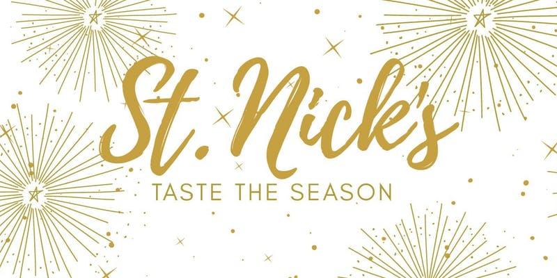st nicks taste the season poster - St. Nick's Taste the Season in Woodinville Wine Country