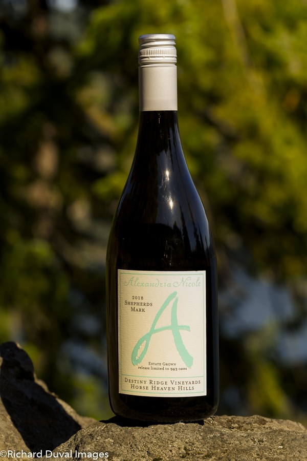 alexandria nicole cellars shepherds mark 2018 bottle 10 02 19 5007 - Alexandria Nicole Cellars uses white Rhône blend to lead Great Northwest Invite