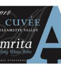 anne amie vineyards amrita sparkling wine 2018 label 120x134 - Anne Amie Vineyards 2018 Cuvée A Amrita Sparkling White Wine, Willamette Valley $15