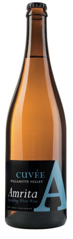 anne amie vineyards cuvee a amrita sparkling white wine nv bottle e1574196536641 - Anne Amie Vineyards 2018 Cuvée A Amrita Sparkling White Wine, Willamette Valley $15