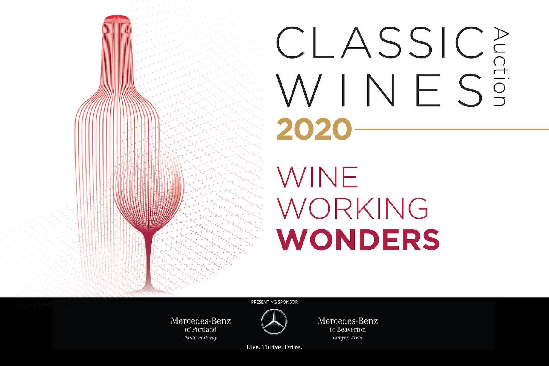 classic wines auction 2020 poster - Classic Wines Auction