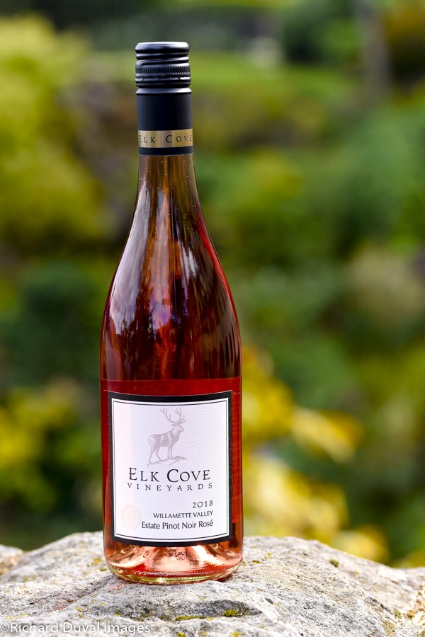 elk cove vineyards estate pinot noir rose 2018 bottle 10 03 19 5659 - Alexandria Nicole Cellars uses white Rhône blend to lead Great Northwest Invite
