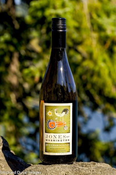 jones of washington estate vineyards chardonnay 2018 bottle - Jones of Washington 2018 Estate Vineyards Chardonnay, Wahluke Slope, $14