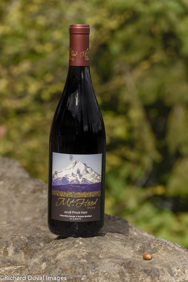 mt hood winery estate pinot noir 2018 bottle 10 03 19 5648 - Mt. Hood Winery 2018 Estate Pinot Noir, Columbia Gorge, $34