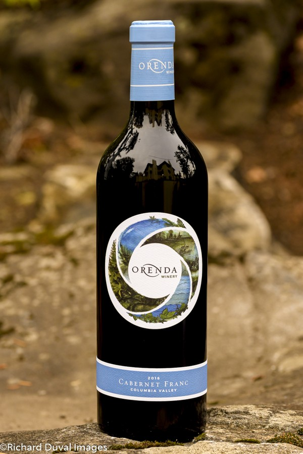 orenda winery cabernet franc 2017 bottle 10 02 19 5309 - Alexandria Nicole Cellars uses white Rhône blend to lead Great Northwest Invite