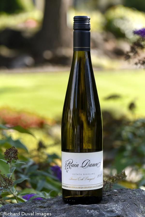 rain dance vineyards grand oak estate vineyard riesling 2018 bottle10 03 19 5560 - Rain Dance Vineyards 2018 Grand Oak Vineyard Estate Riesling, Chehalem Mountains, $24