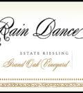 rain dance vineyards grand oak vineyard estate riesling nv label 120x134 - Rain Dance Vineyards 2018 Grand Oak Vineyard Estate Riesling, Chehalem Mountains, $24