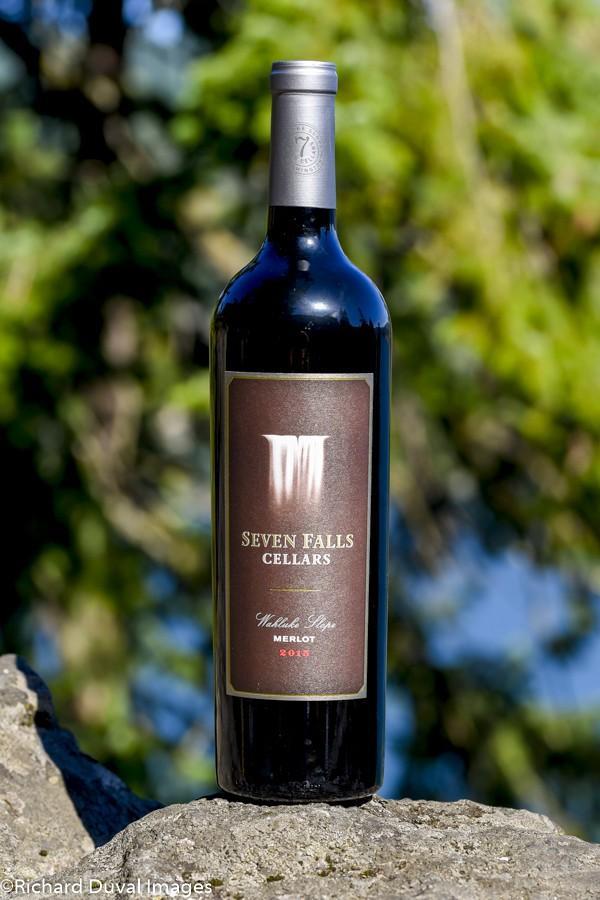 seven falls cellars 2015 merlot bottle 10 02 19 5042 - Seven Falls Cellars 2015 Merlot, Wahluke Slope, $18