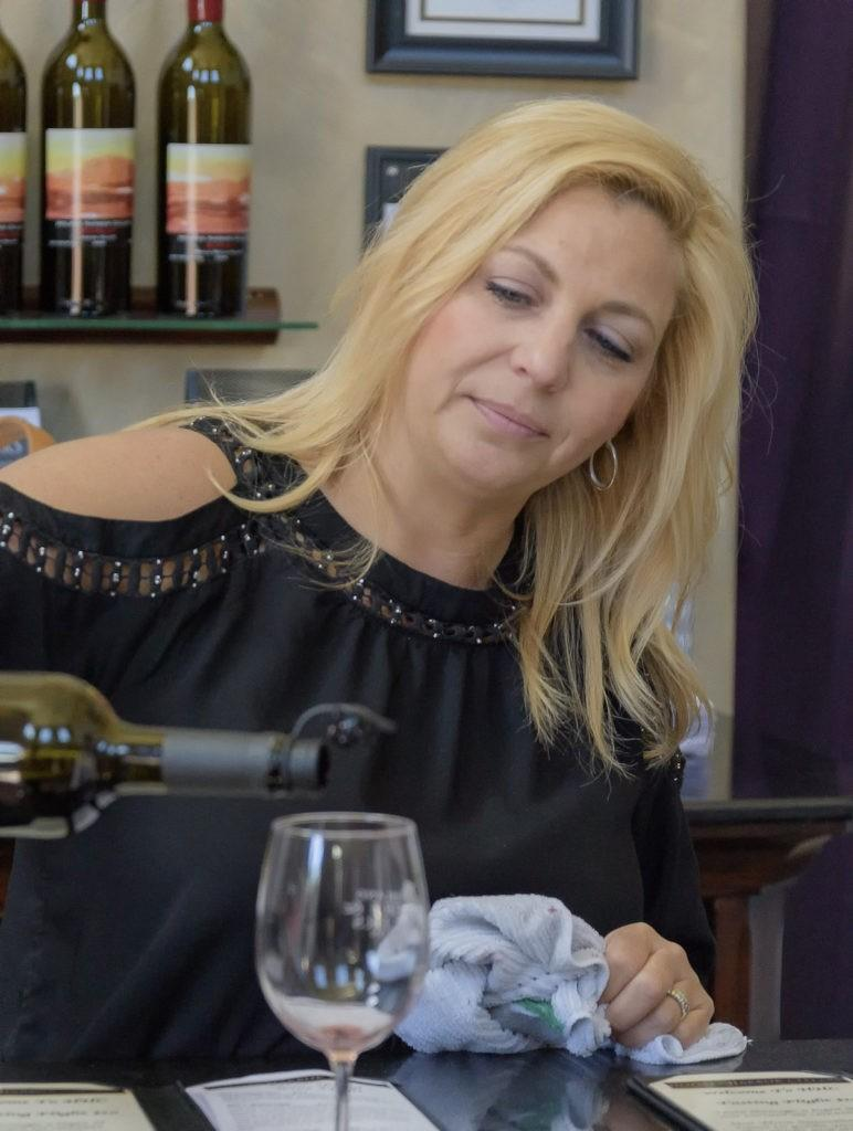 whidbey island vintners savor spring pouring 772x1024 - Wind Rose Cellars presents Dawn Martin