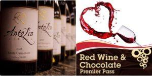 ALC CC Photo Red Wine Chocolate Montage 300x151 - Red Wine and Chocolate Weekend at AntoLin Cellars