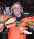 Lady with 2 Crabs 120x134 - 15th annual Portland Seafood & Wine Festival