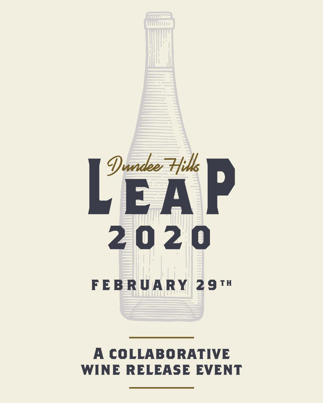 Leap insta image feed - Dundee Hills Leap 2020 - A Collaborative Wine Release Event
