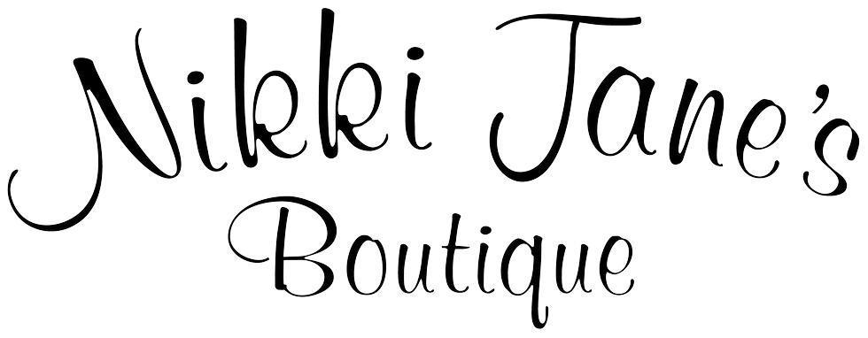 NikkiJanesBoutique Logo - First Friday Wine Tasting with Bells Up at Nikki Jane's Boutique