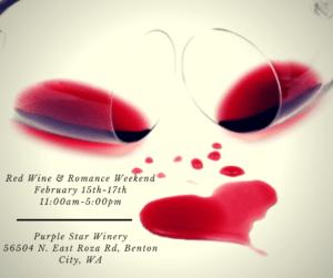 Red Wine and Romance 300x251 - Red Wine and Romance Weekend at Purple Star Winery