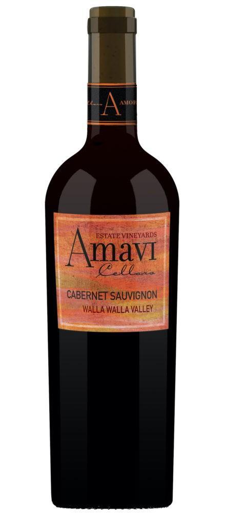 amavi cellars estate cabernet sauvignon nv bottle 441x1024 - Amavi Cellars 2016 Estate Vineyards Cabernet Sauvignon, Walla Walla Valley, $33