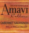 amavi cellars estate cabernet sauvignon nv label 120x134 - Amavi Cellars 2016 Estate Vineyards Cabernet Sauvignon, Walla Walla Valley, $33