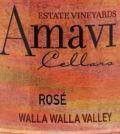 amavi cellars rose nv label 120x134 - Amavi Cellars 2018 Estate Vineyards Rosé, Walla Walla Valley, $24