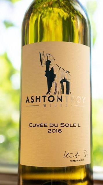 ashton troy wines cuvee du soleil 2016 bottle - Ashton Troy Wines 2016 Cuvée du Soleil White Wine, Columbia Valley, $25
