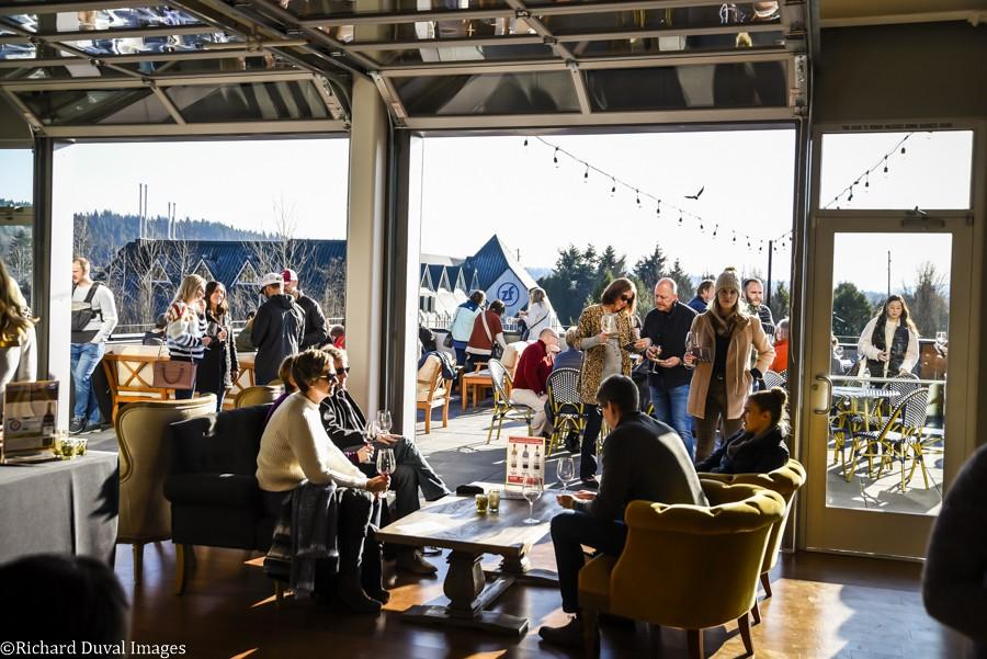 delille cellars elevated 11 30 19 0612 - VineLines Dispatch: Tasting rooms continue to swirl around Woodinville