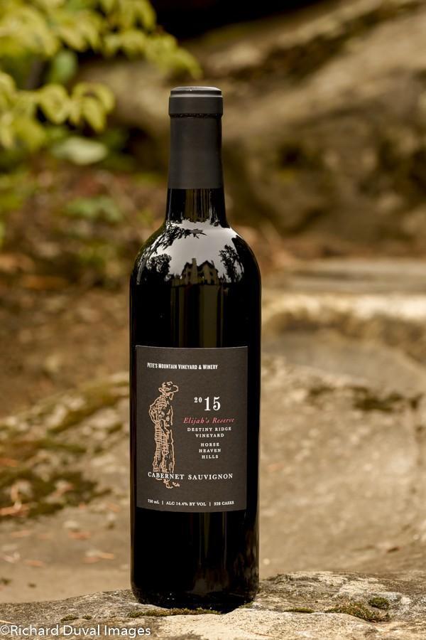 petes mountain vineyard winery 2015 destiny ridge vineyard elijah reserve cabernet sauvignon invite 10 02 19 5261 - Pete's Mountain Vineyard & Winery 2015 Destiny Ridge Vineyard Elijah's Reserve Cabernet Sauvignon, Horse Heaven Hills, $38