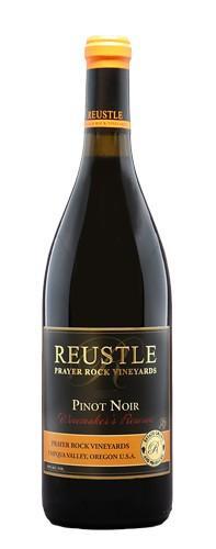 reustle prayer rock vineyards winemakers reserve pinot noir nv bottle - Reustle - Prayer Rock Vineyards 2016 Estate Winemaker's Reserve Pinot Noir, Umpqua Valley, $42