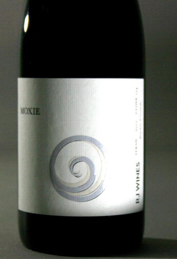 rj wines moxie syrah 2017 bottle 698x1024 - RJ Wines 2017 Boushey Vineyard Moxie Syrah, Yakima Valley, $32