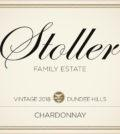 stoller family estate chardonnay 2018 label 120x134 - Stoller Family Estate 2018 Chardonnay, Dundee Hills, $28