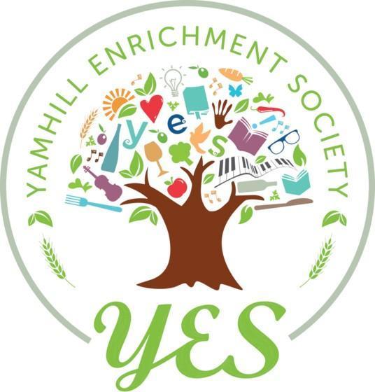 yamhill enrichment society logo - Cuvée Stroll at The Allison Inn & Spa