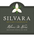 Silvara Sparkling Wine front label 4x3.5 in 120x134 - Affair of the Heart: Valentine's wine tasting at Silvara Cellars