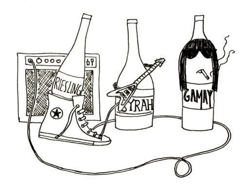 altrockwines sunday school poster - Sunday School presents Alt Wine Summit seminar and tasting
