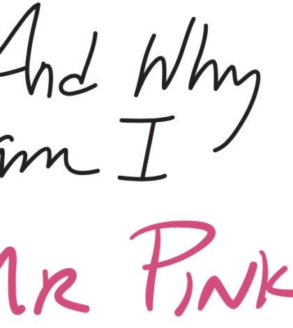 and why am i mr pink label 420x470 - The Underground Wine Project 2018 And Why Am I Mr. Pink Rosé, Columbia Valley, $13