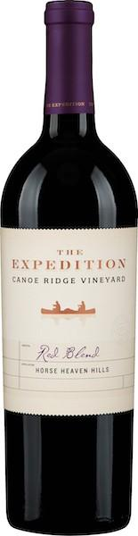 canoe ridge vineyard the expedition red blend nv bottle - Canoe Ridge Vineyard 2017 The Expedition Red Blend, Horse Heaven Hills, $17