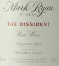 mark ryan winery the dissident red wine 2016 label 120x134 - Mark Ryan Winery 2016 The Dissident Red Wine, Columbia Valley, $38