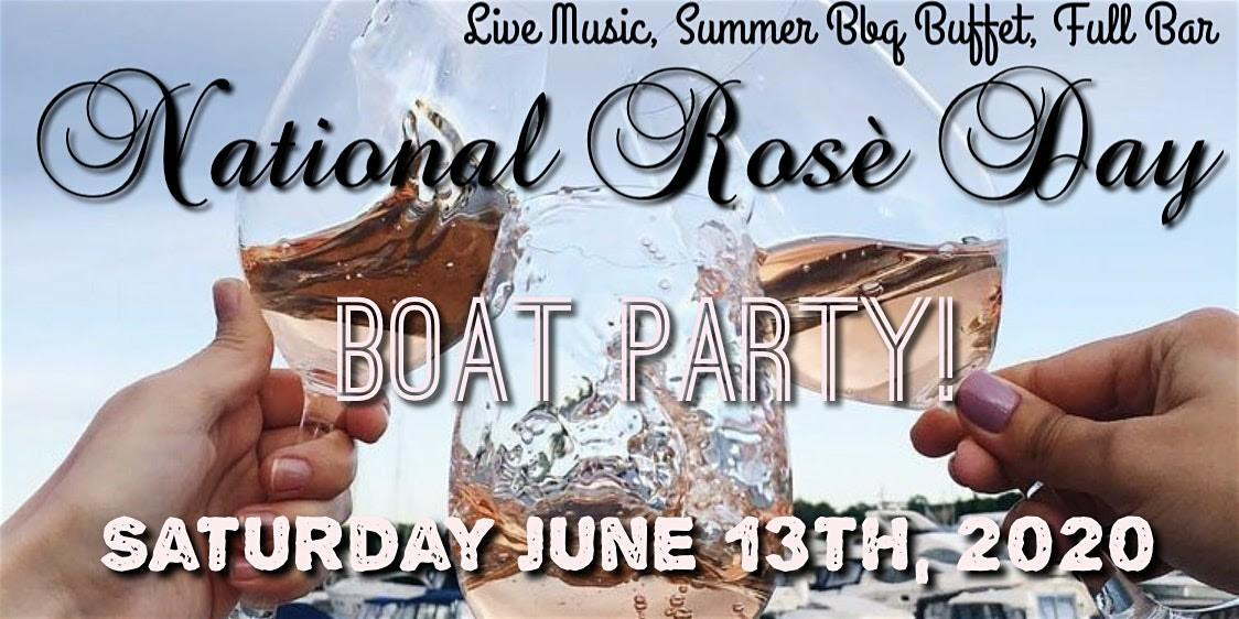 national rose day boat party 2020 - National Rosè Day Boat Party