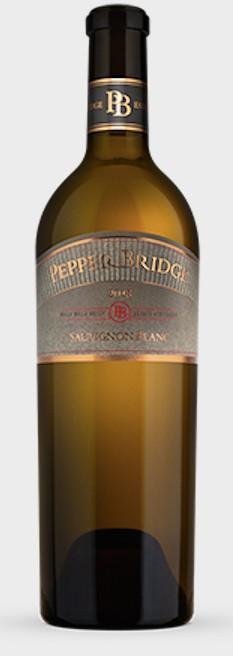 pepper bridge sauvignon blanc 2018 bottle - Pepper Bridge Winery 2018 Estate Vineyards Sauvignon Blanc, Walla Walla Valley, $36